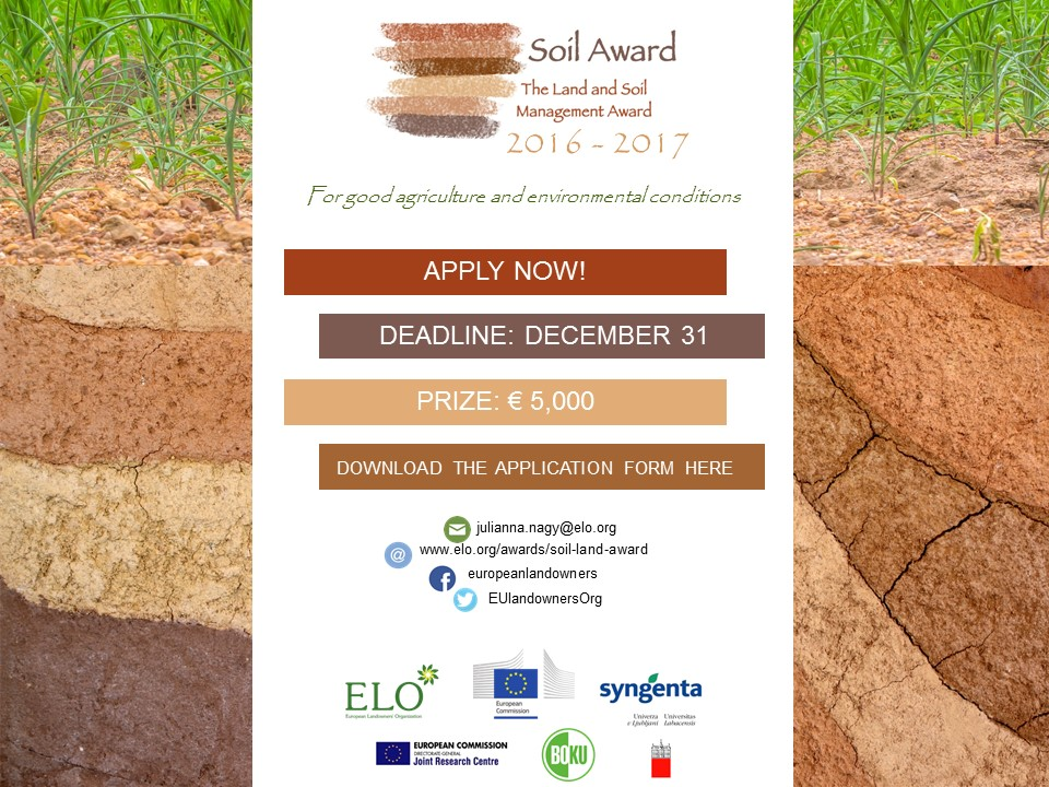 Soil Award CALL lr 2016 17